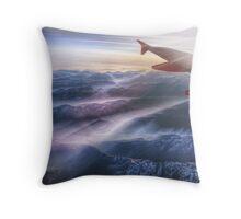 The Alps Throw Pillow