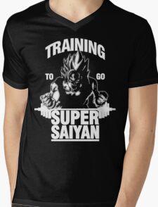 Training to go Super Saiyan (White Edition) T-Shirt