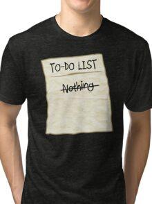 To-do List Tri-blend T-Shirt