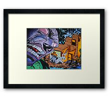 Everything Crumbles Framed Print