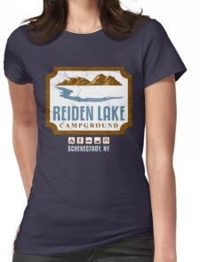 Reiden Lake Campground Womens Fitted T-Shirt