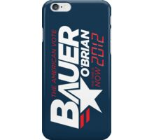 Vote Jack Bauer in 2012 iPhone Case/Skin