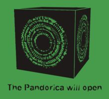 The Pandorica Will Open Kids Tee