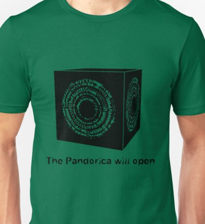 The Pandorica Will Open Unisex T-Shirt