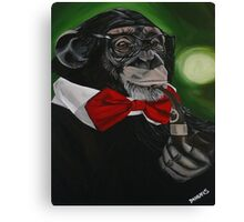 Prof. Chimpo Canvas Print