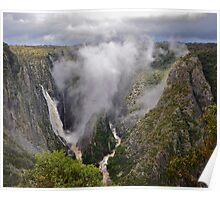 Wollomombi Falls. Poster
