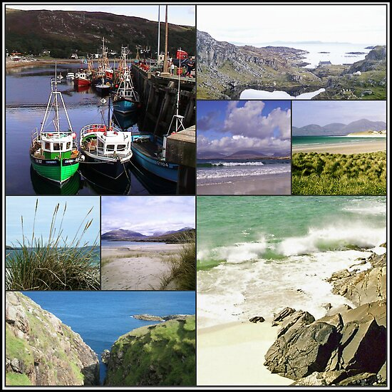 Highlands and Islands - A Scottish Collage by BlueMoonRose