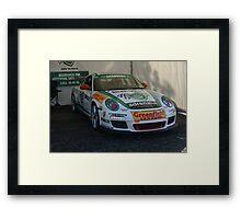 Jim Richards' Porsche Framed Print