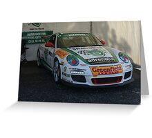 Jim Richards' Porsche Greeting Card