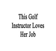 This Golf Instructor Loves Her Job by supernova23