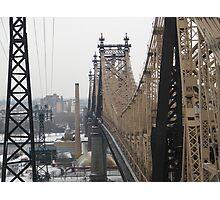 Queensboro Bridge, As Seen from Roosevelt Island Tram, New York Photographic Print
