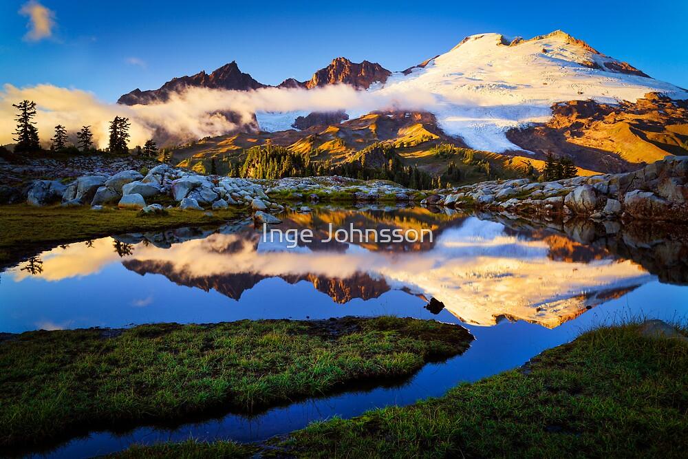 Mount Baker Sunset by Inge Johnsson