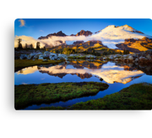 Mount Baker Sunset Canvas Print
