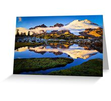 Mount Baker Sunset Greeting Card