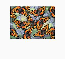 Orange Butterflies Unisex T-Shirt
