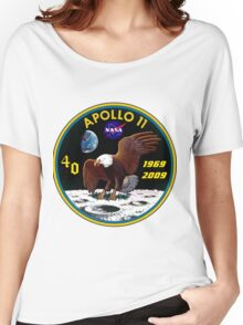 Apollo 11: 40th Anniversary Patch Women's Relaxed Fit T-Shirt