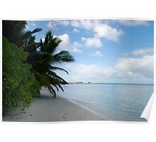 The Rip, Direction Island - Cocos (Keeling) Islands Poster