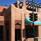 Santa Fe Adobe Shop by Frank Romeo