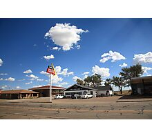 Route 66 - MidPoint Cafe, Adrian Texas Photographic Print