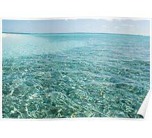 Azure waters - Cocos (Keeling) Islands Poster