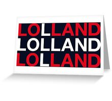 LOLLAND Greeting Card