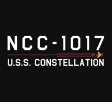 ST Registry Series - Constellation Small White Logo T-Shirt