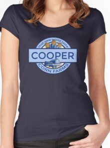 Cooper Corn Farms Women's Fitted Scoop T-Shirt