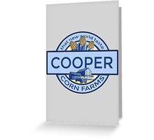 Cooper Corn Farms Greeting Card