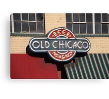 Denver - Old Chicago Beer Canvas Print
