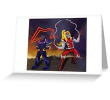 Deadly Duo Greeting Card