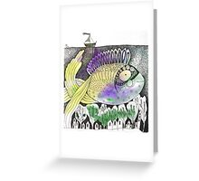 Underwater Town Greeting Card