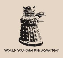 Tea Dalek by Deastrumquodvic