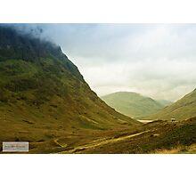Glen Coe Photographic Print