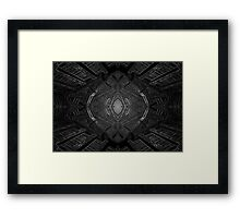 Alien spawning chamber Framed Print