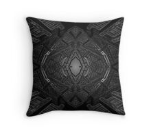 Alien spawning chamber Throw Pillow
