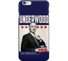 Underwood for President iPhone Case/Skin