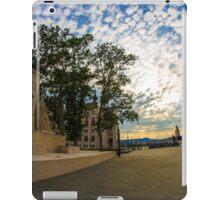 Empty streets of Budapest iPad Case/Skin