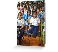 Costa Rica Orphanage Greeting Card