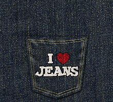 I Heart Jeans by CreativoDesign