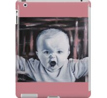 Cute Angry Baby iPad Case/Skin