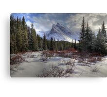 Elbow Pass valley VII Canvas Print