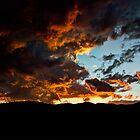 Fire in the Sky  by Saija  Lehtonen