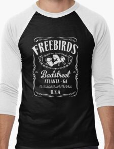 Badstreet USA - Fabulous Freebirds Tribute t-shirt Men's Baseball ¾ T-Shirt