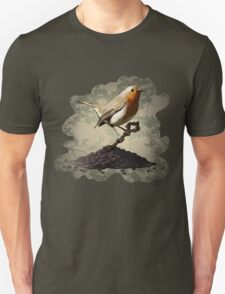 Mr. Robin Finds the Key Unisex T-Shirt