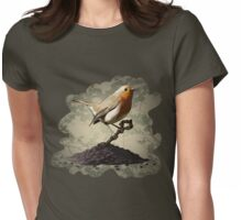 Mr. Robin Finds the Key Womens Fitted T-Shirt