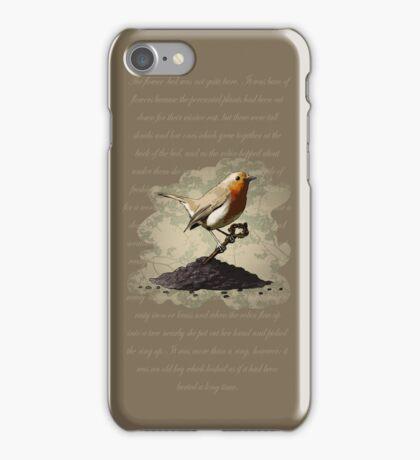 Mr. Robin Finds the Key iPhone Case/Skin