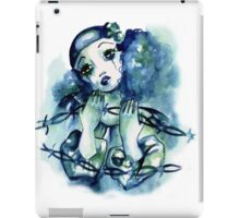 Blue Pierrot iPad Case/Skin