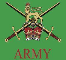 British Army Crest Baby Tee