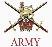 British Army Crest Kids Clothes