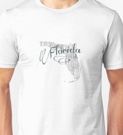 Florida State Typography Unisex T-Shirt